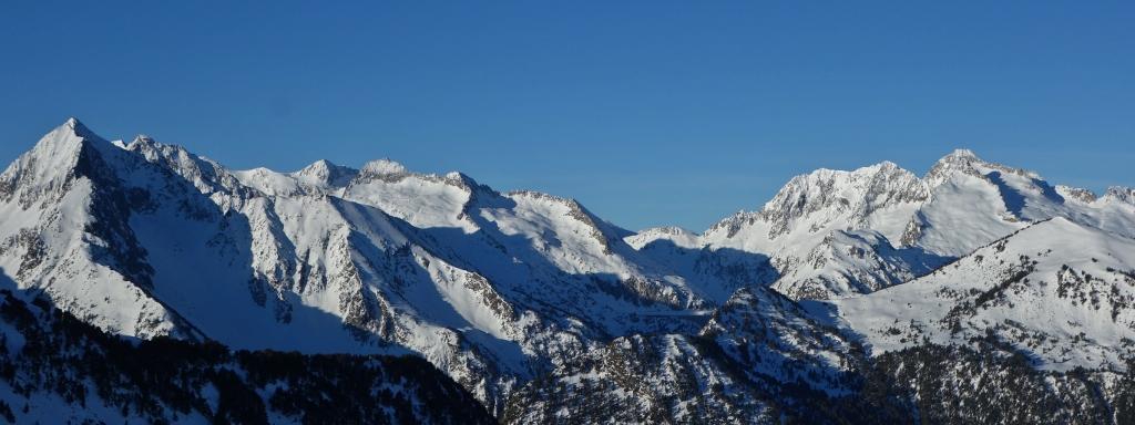 Le massif du Néouvielle /version hiver