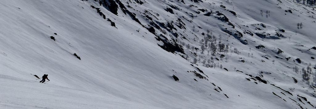 descente de la Punta artica