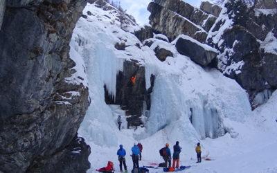 Janvier, Glace ou Ski