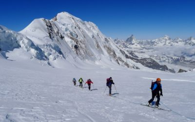 Raids à ski: Grand Paradis et Mont Rose