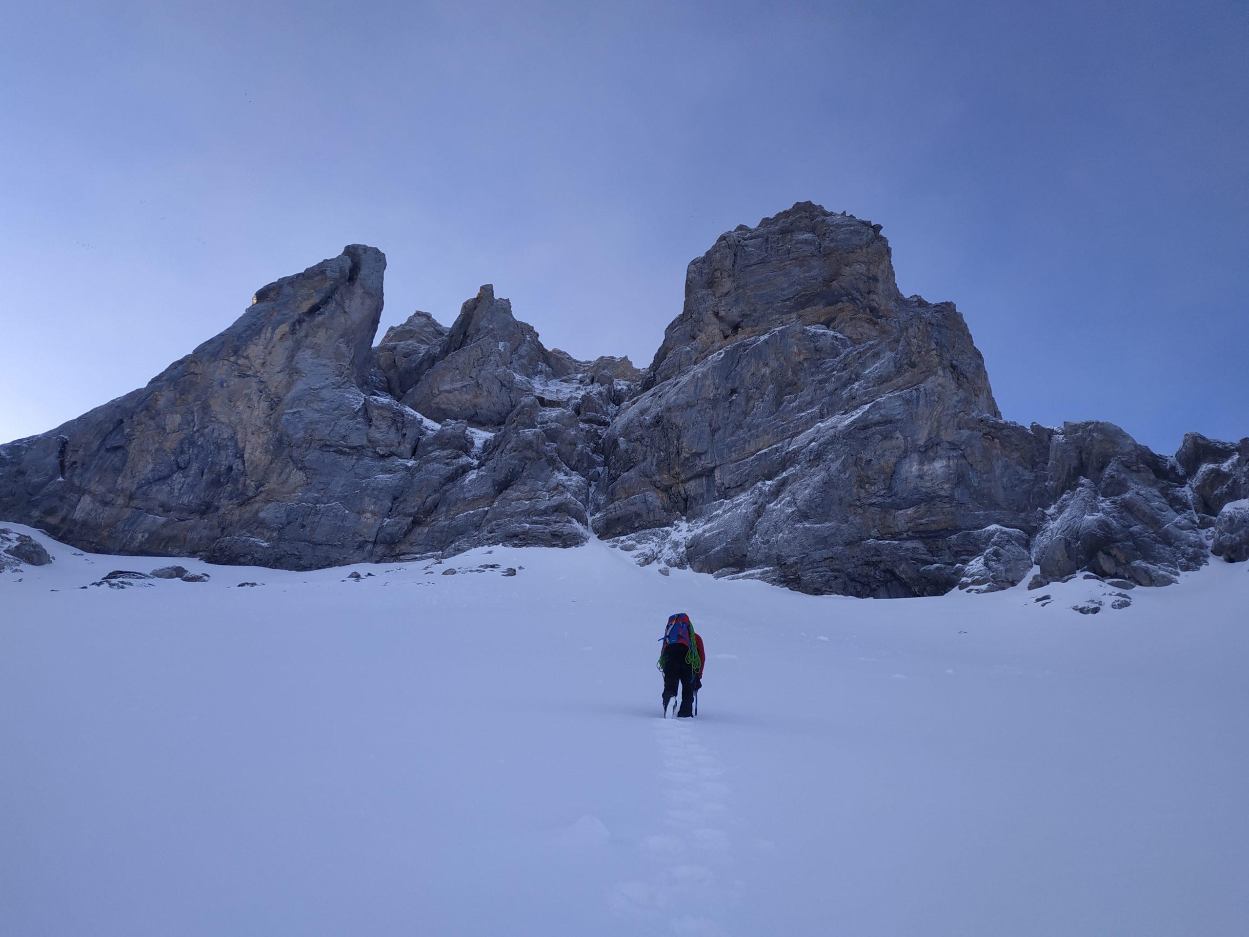 Alpinisme au Pic Rouge de Pailla